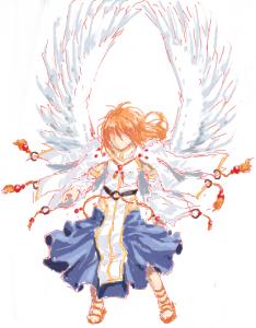 天使の衣装?