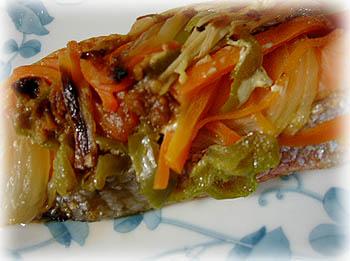 鮭の味噌マヨ蒸し焼き2