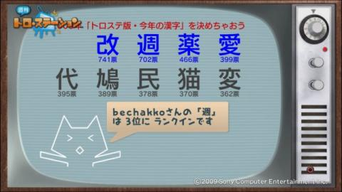 torosuteNo.006 トロステ版2009年の漢字 11