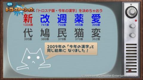 torosuteNo.006 トロステ版2009年の漢字 13