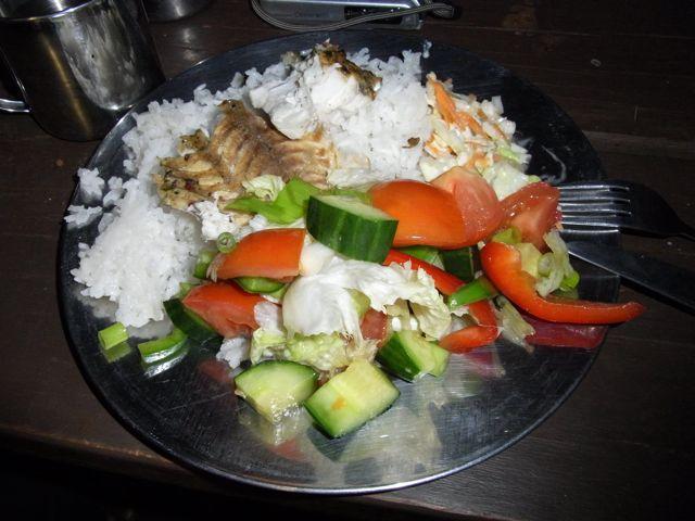 4:30夜Basaサラダご飯