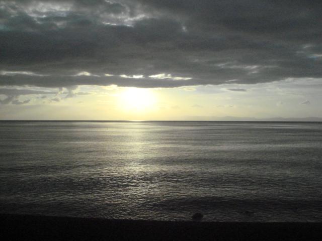 佐野の海岸・朝