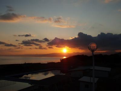大磯の夕日