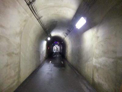 トンネル風景