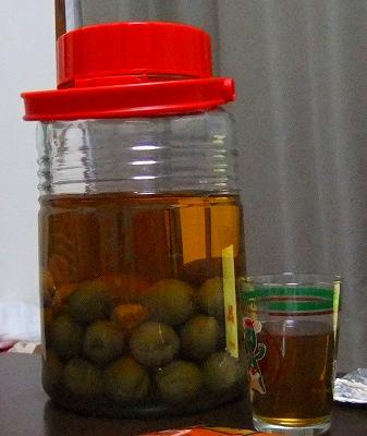 チャウ家お手製梅酒