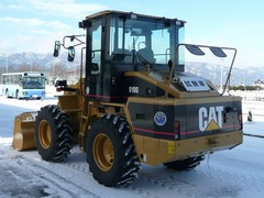 CAT 910G 試験車