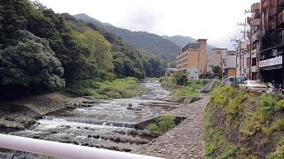 箱根湯元の川
