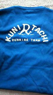 ランニングチームTシャツ