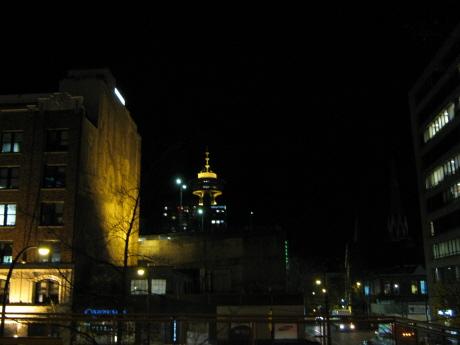 バンクーバー夜景