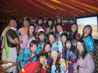 モンゴル集合モザイク
