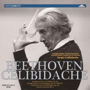 Sergiu Celibidache Beethoven - Symphony-No-2-No-4