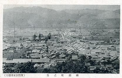 綾部町之景