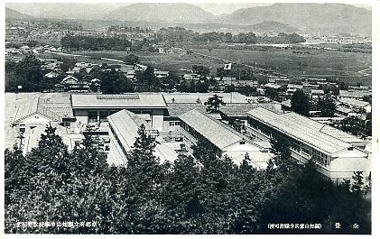 福知山中学校全景