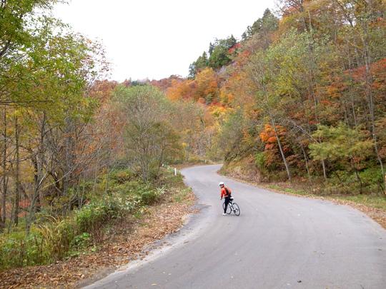 秋山郷紅葉サイクリング(その2)14