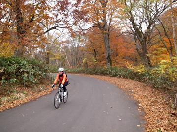 秋山郷紅葉サイクリング(その2)18