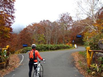秋山郷紅葉サイクリング(その2)19