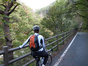 昇仙峡紅葉サイクリング8