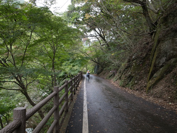 昇仙峡紅葉サイクリング12