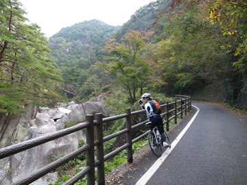 昇仙峡紅葉サイクリング10