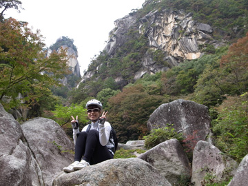 昇仙峡紅葉サイクリング18