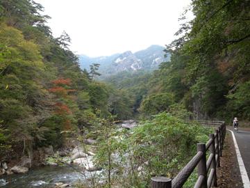 昇仙峡紅葉サイクリング17