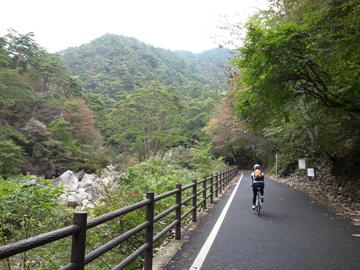 昇仙峡紅葉サイクリング15