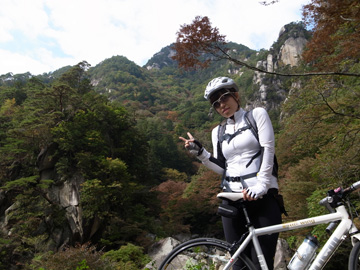昇仙峡紅葉サイクリング19