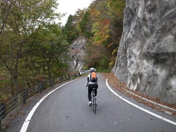 昇仙峡紅葉サイクリング33