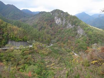 昇仙峡紅葉サイクリング38