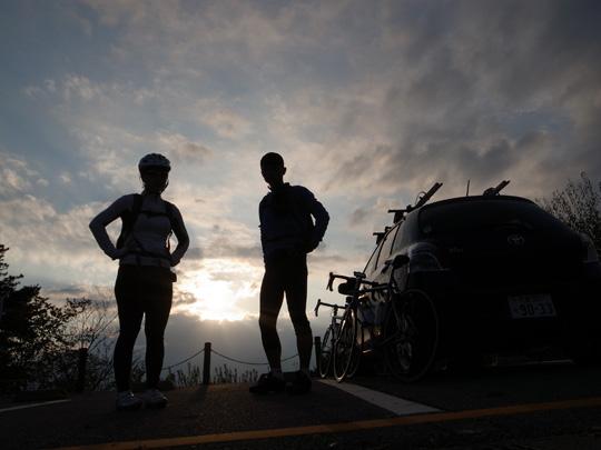 昇仙峡紅葉サイクリング50