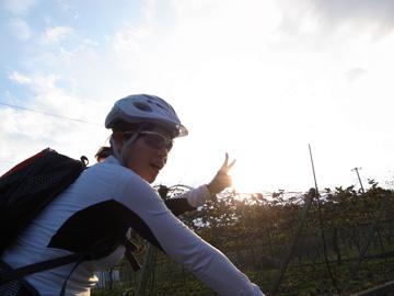 昇仙峡紅葉サイクリング49