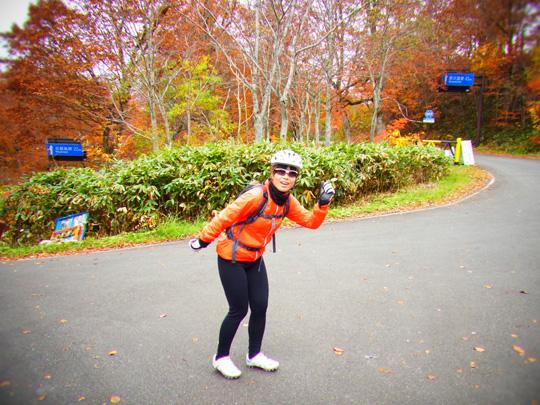 秋山郷紅葉サイクリング(その2)22