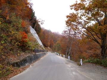 秋山郷紅葉サイクリング(その2)23