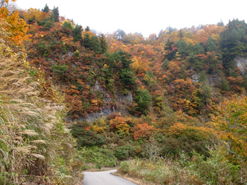 秋山郷紅葉サイクリング(その2)25