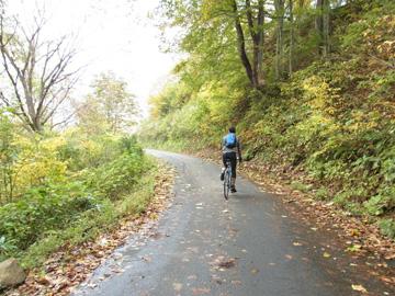 秋山郷紅葉サイクリング(その1)11