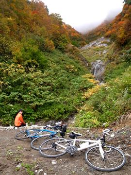 秋山郷紅葉サイクリング(その2)29