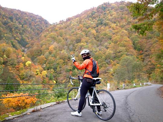 秋山郷紅葉サイクリング(その2)33