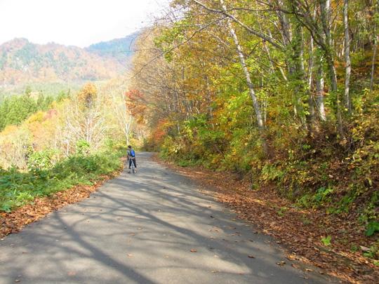 秋山郷紅葉サイクリング(その1)26
