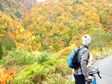 秋山郷紅葉サイクリング(その2)34