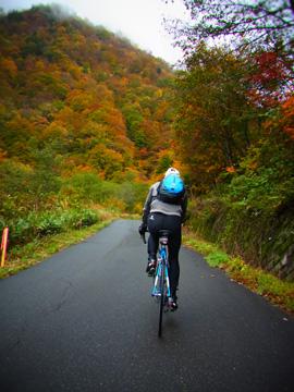秋山郷紅葉サイクリング(その2)110