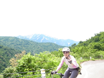 枝折峠サイクリング1