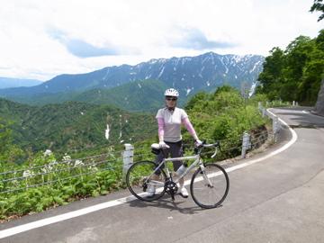 枝折峠サイクリング4