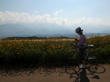 ひまわり畑&信州峠サイクリング12