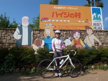 ひまわり畑&信州峠サイクリング13