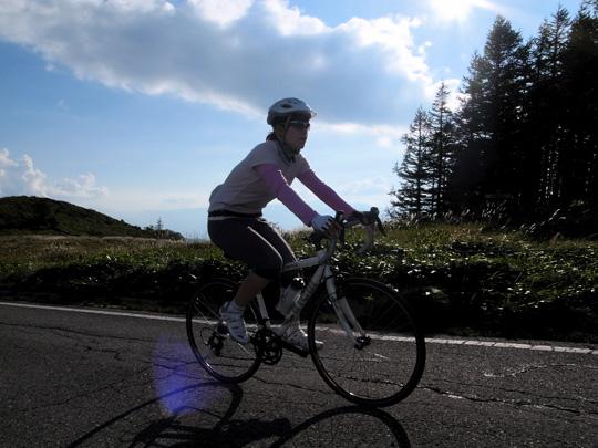 美ヶ原サイクリング(その1)1