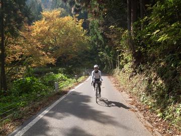 秋山郷紅葉サイクリング(その1)3