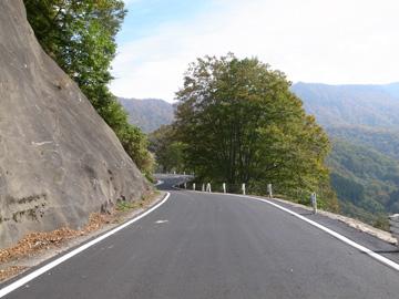 秋山郷紅葉サイクリング(その1)5