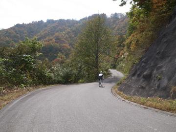 秋山郷紅葉サイクリング(その1)6