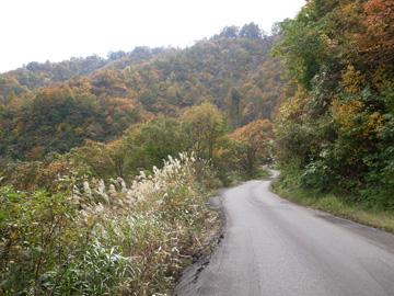 秋山郷紅葉サイクリング(その1)9