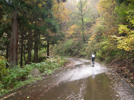 秋山郷紅葉サイクリング(その1)10